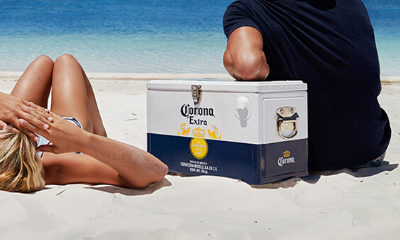 Free Corona Beer Cooler Box