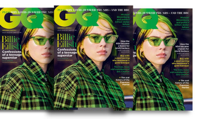 3 Issues of GQ Magazine for £1