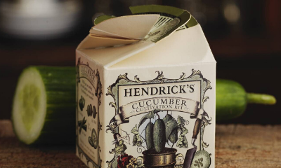 Free Hendricks Gin & Cucumber Seeds Kit