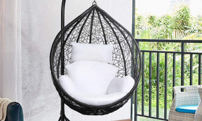 Win a Hanging Egg Chair from BRIQ (worth £179)