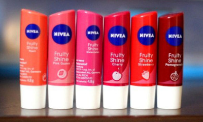 Free NIVEA Fruity Lip Balm