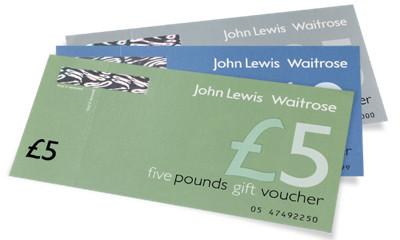Earn a Free £10 Waitrose/John Lewis Voucher