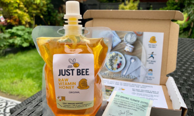 Free Pouch of Honey