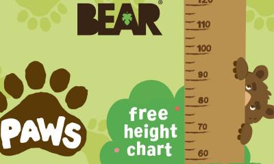 Free Kids Height Chart