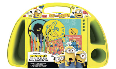 Free Minions Stationery Set