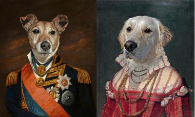 Win a Royal Pet Portrait