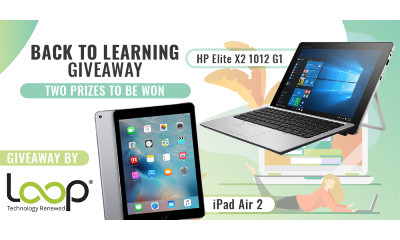 Win an HP Laptop or iPad