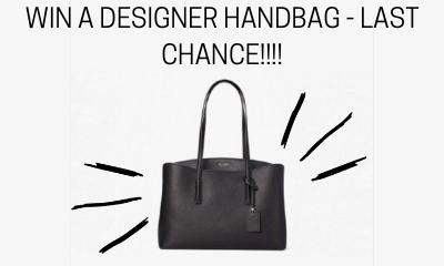 Win a Designer Handbag