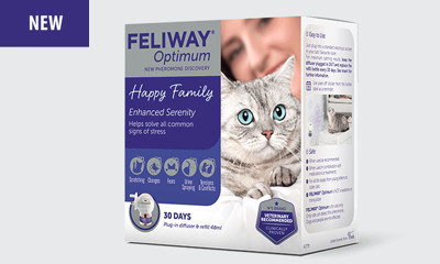 Win a Year's Supply of Feliway Cat Products