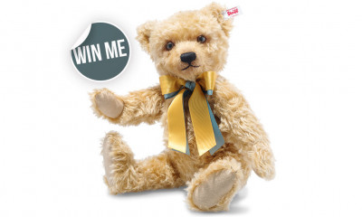 Win a Limited Edition Steiff Teddy Bear (worth £179)