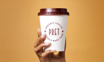 Free Pret Coffee for a Month