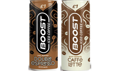 Free Boost Iced Coffee