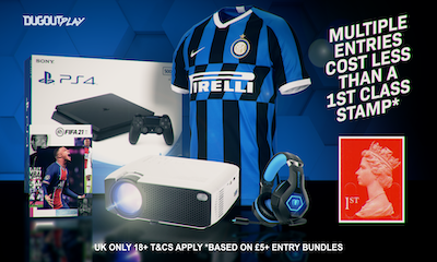 Win a PS4, FIFA 21, Video Projector, Football Shirt & More