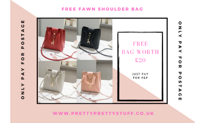 Free Fawn Shoulder Bag (Worth £20)