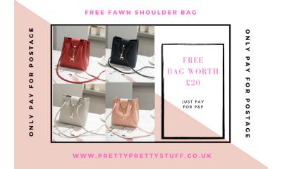 Free Fawn Shoulder Bag (Worth £20)