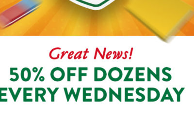 50% Off A Dozen Doughnuts for Education Heroes