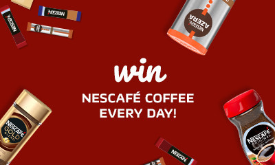 Win Jars of NESCAFÉ Coffee Every Day