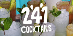 Happy Hour Extended: 2-4-1 Cocktails