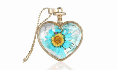 Free Hand Made Dried Flower Necklace