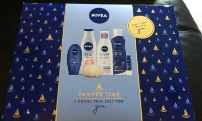 Free NIVEA Pamper Gift Set
