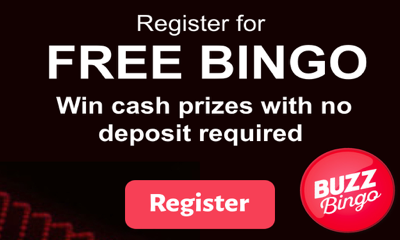 Free Bingo with Cash Prizes - No Deposit Required