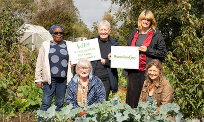 Win a Veg Garden for Your Community