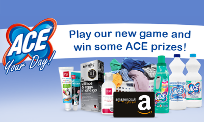 Free ACE Laundry Products