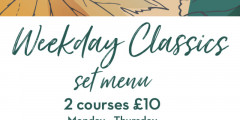 2 Courses for £10