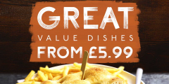 Lunch Mains from £5.99