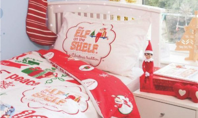 Win the Elf on the Shelf Bedding Set