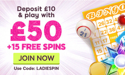 Free £40 from 888 Ladies Bingo
