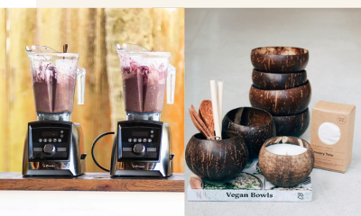 Win a Vitamix® Blender & Coconut Bowls