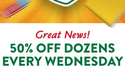 "<span class=""merchant-title"">Krispy Kreme</span> | 50% Off A Dozen Doughnuts for Public Worker Heroes"