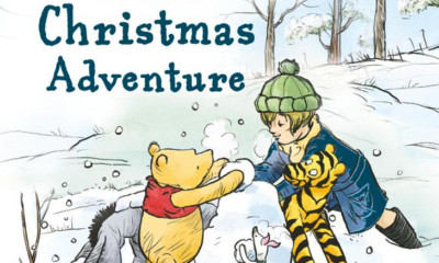 Win a Winnie-the-Pooh: Pooh's Christmas Adventure Book
