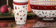 Free Festive Reusable Coffee Cup