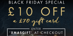 £10 Off a £70 Gift Card