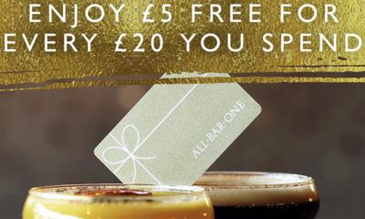 "<span class=""merchant-title"">All Bar One</span> | £5 Extra Voucher Value"