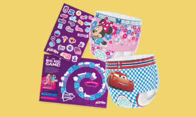 Free Nappy & Disney Sticker Set