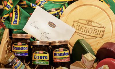 Free Branston Pickle Christmas Hamper