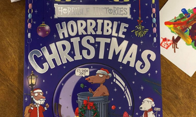 Win a Horrible Histories Horrible Christmas Book