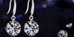 Free Swarovski Crystal Earrings
