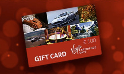 Free £100 Virgin Experience Gift Card
