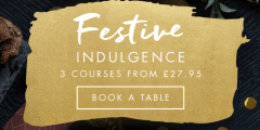 Christmas: Three Courses from £27.95