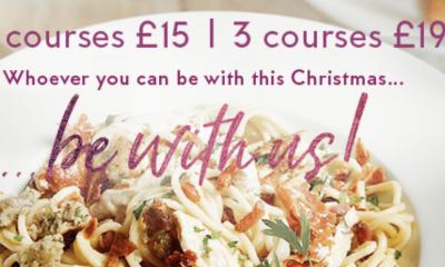 "<span class=""merchant-title"">Prezzo</span> | Christmas: Two Courses for £15"
