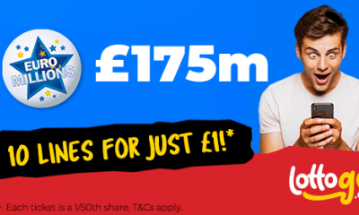 £175M Euromillions Super Jackpot - 10 Lines for £1 - HURRY