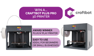 Win a Craftbot 3D Printer