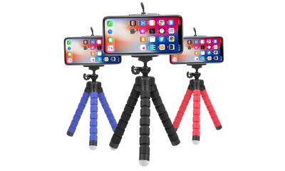Free Flexible Tripod For Smartphones