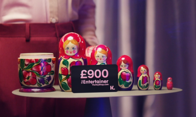 Win a £900 The Entertainer Gift Card