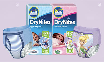 Free DryNites Nappy
