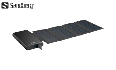Win a Sandberg Solar Panel Powerbank